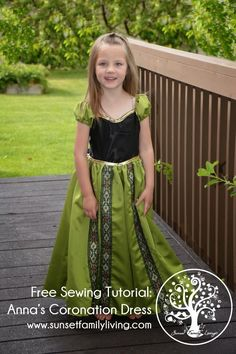 Easy princess dress sewing No little girl can have enough dress-up princess dresses. Annas...