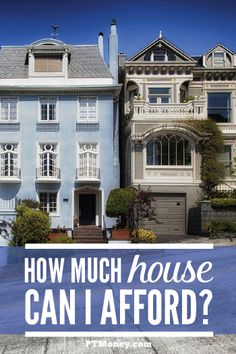 """You should be asking """"how much house can I afford with my salary?"""" This is a great question to ask. Aren't you asking """"how much house can I afford on my income?"""""""