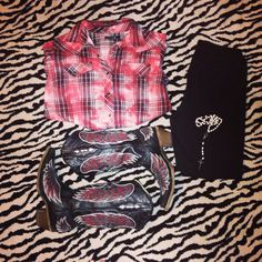 Shirt: Baskins  Pants: Walmart  Boots: Baskins