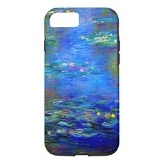 Monet Water Lilies v4 Case-Mate iPhone Case Art Phone Cases, Iphone 5 Cases, Mobile Phone Cases, Samsung Galaxy Cases, 5s Cases, New Iphone, Iphone 5s, Monet Water Lilies, Technology Gifts