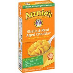 Annie's Shells & Real Aged Cheddar Macaroni & Cheese 6 oz... https://www.amazon.com/dp/B000CQ6KTM/ref=cm_sw_r_pi_dp_x_yUvayb8DPPMRM