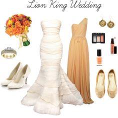 Lion King Wedding