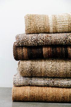 Pampa rugs, woven earthy beautiful textiles