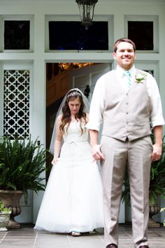 Our First Look - Katie + Kenny's Wedding  {The Fillauer Lake House - Cleveland, TN} Photo By Caressa Rogers Photography