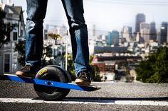 Onewheel is a self-balancing single-wheeled electric skateboard (video)