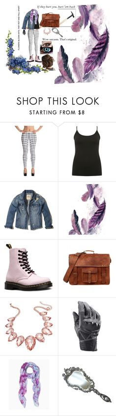 """""""Creepypasta oc #2"""" by furryobsessive ❤ liked on Polyvore featuring M&Co, Hollister Co., Dr. Martens, Thalia Sodi and Under Armour"""