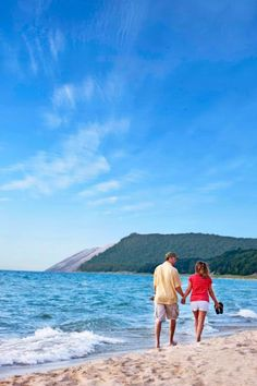 Things to do in Michigan's Traverse Area include Sleeping Bear Dunes National Lakeshore, National Cherry Festival, Beaver Island, wineries and Clinch Park Beach.