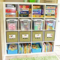 6 Tips to Organize a Kids Craft Space via TipJunkie.com