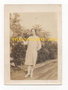 Antique Vintage Photograph~Women~Female~Portrait~Outside~Trees~Birmingham, AL