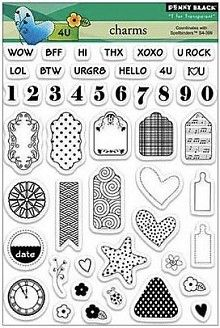 Penny Black Charms Clear Stamps (30-173)