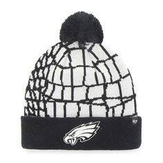 Philadelphia Eagles Quinkana Cuff Knit White 47 Brand Hat - Great Prices  And Fast Shipping at Detroit Game Gear c21e86ac1
