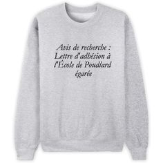 Sweat Harry Potter Pour plus -> anais_Fbg Harry Potter Style, Harry Potter Outfits, T Shorts, Mode Style, Dress Codes, Funny Shirts, Graphic Sweatshirt, Tee Shirt, Sweatshirts