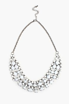 Crystal Cloud Collar Necklace