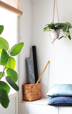 DIY | Helppo amppeli nahkanarusta