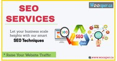 Want to be on Page 1 of Google?  We provide the best SEO service that will boost your website ranking and help to increase the organic traffic in huge amount. We believe in result driven approach, which is why you won't have to worry about the results.  Hit the link to find out more!!  #SEO #Digital_Marketing #PPC #SMO #Email_marketing #organic_traffic #WoosperCA