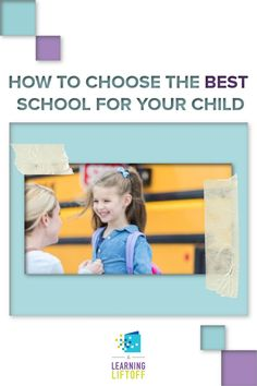 Choosing the best school for your child is vital. Be sure to consider all of these factors when you choose a new school or to evaluate your current school. Gifted Education, Career Education, Online High School, Learning Spaces, Student Gifts, Early Learning, School Fun, Factors, Elementary Schools