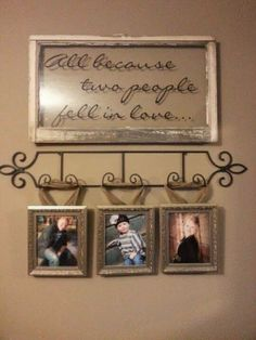 All Because Two People Fell In Love - http://decoratingwithdecals.blogspot.com/2014/02/all-about-love-pt-2.html