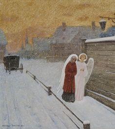 Репродукции картин - Простев Александр - Белая ночь времён Ксении Петербургской