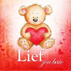 Cute teddy bear holding red heart on white background Cute Bear, Cute Teddy Bears, Teddy Images, I Love You God, Bear Clipart, Afrikaanse Quotes, Romantic Quotes, Nice Quotes, Happy Birthday Wishes