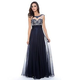 Decode 1.8 Beaded Illusion Gown