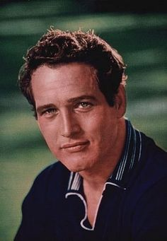 Paul Newman from a magazine cover, 1955.