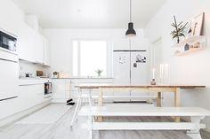 Esta combinación de colores es la aliada perfecta a la hora de conseguir un estilo nórdico  actual, sencillo y perfecto para completar con...