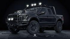 car Ford 4x4 black