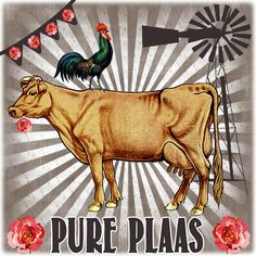 Digital collage kuns deur Tinka Paulsen (Afrikoekie) Sign Quotes, Wall Quotes, Chicken And Cow, Afrikaanse Quotes, Good Old Times, Africa Art, Scrapbook Albums, Scrapbooking, My Land