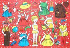 Paper Dress-up Dolls of Josef Schneider Jr. Vienna (JSJWien)