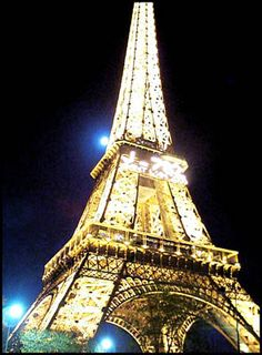 Paris at night...don't miss the evening boat ride on the Siene.
