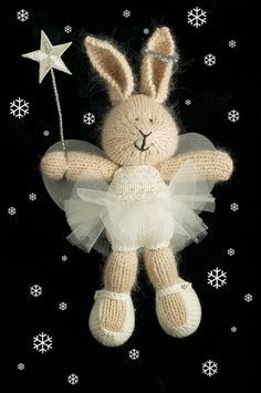 Little cotton rabbits red hair gene - Red Hair Knitting For Kids, Knitting Projects, Baby Knitting, Crochet Projects, Knitting Patterns, Crochet Patterns, Knitting Ideas, Knitted Bunnies, Knitted Animals