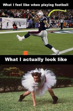 What I feel like when playing american football - http://www.jokideo.com/feel-like-playing-american-football/