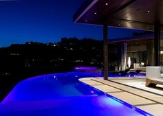 LA residence with stunning views