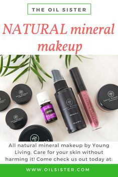 The Savvy Minerals by Young Living makeup line includes a full variety of naturally derived products, including mineral eyeshadow, long-lasting foundation, mineral bronzer, no-smudge eyeliner, mineral blush powder, and more! Come learn how to get started... www.oilsister.com