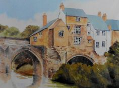 Elvet Bridge by Harry Turnbull of Lanchester Durham City, St Johns College, Old Images, Countryside, Cathedral, Ireland, Bridge, Landscapes, River