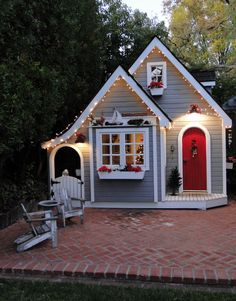 Best Tiny House Plans Small Cottages Ideas And Design 09 Small Cottage Designs, Small Cottage House Plans, Small Cottage Homes, Small Cottages, Small House Plans, Beach Cottages, Tiny Homes, Shed House Plans, Dream Homes