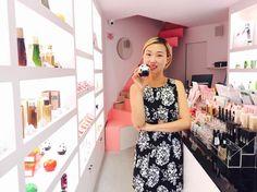 """Lilin Yang in ihrem """"Miin""""-Store: ein Mekka für koreanische Kosmetik"""