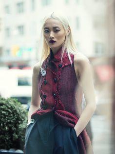 Li Xiao XIng | Elle Hong Kong Setembro 2016