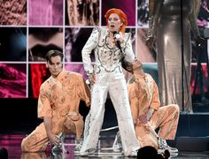 Lady Gaga's Stylish Tribute to David Bowie Will Blow Your Mind: When we first heard Lady Gaga would be performing a tribute for David Bowie at this year's Grammys, we knew this would be one of the night's most talked-about moments.