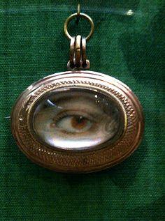 Eye Miniature from Philadelphia Museum