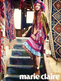 Gong Hyo Jin Immerses in Turkey's Culture for Marie Claire Magazine