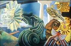 Above: Image of a Chicano Park mural in San Diego's Barrio Logan neighborhood.