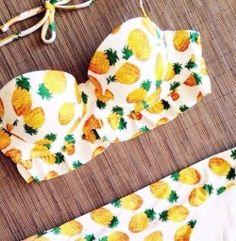 pineapple bikini || zazumi.com