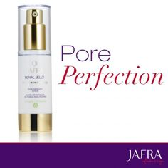 Fast-acting serum for pore emergencies that helps diminish their appearance and refine skin texture. http://jafra.me/dk7
