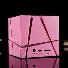 Qone Cube Subwoofer Creative Card 3C Portable Wireless Bluetooth Speaker