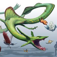 I really like rayquaza and it was a ton of fun illustrating him #pokemon… Pokemon, Pokemon GO