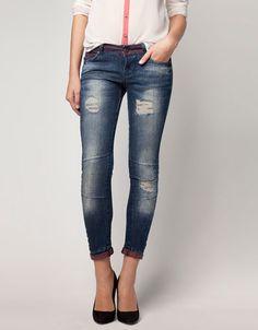 Bershka México - Jeans Bershka detalle rotos