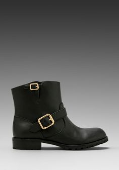 Marc by Marc Jacobs MBMJ Classics Heavy Calf Moto Boot in Black - so  classy and practical at the same time. Love it.