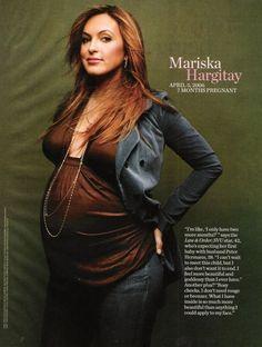 Mariska Hargitay. My favorite actress ever! She is SSSOOO AWESOME!!!!