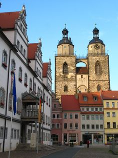 Wittenberg, Germany! I've been there! Let's go back!